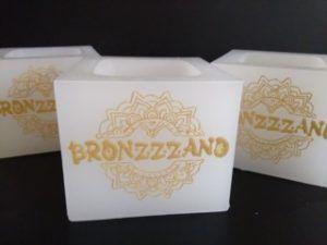 Vela hueca cuadrada Bronzzzano