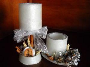 velas huecas navidad 1